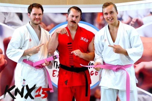 Matthias Golinski, Master Ken, Jesse Enkamp.