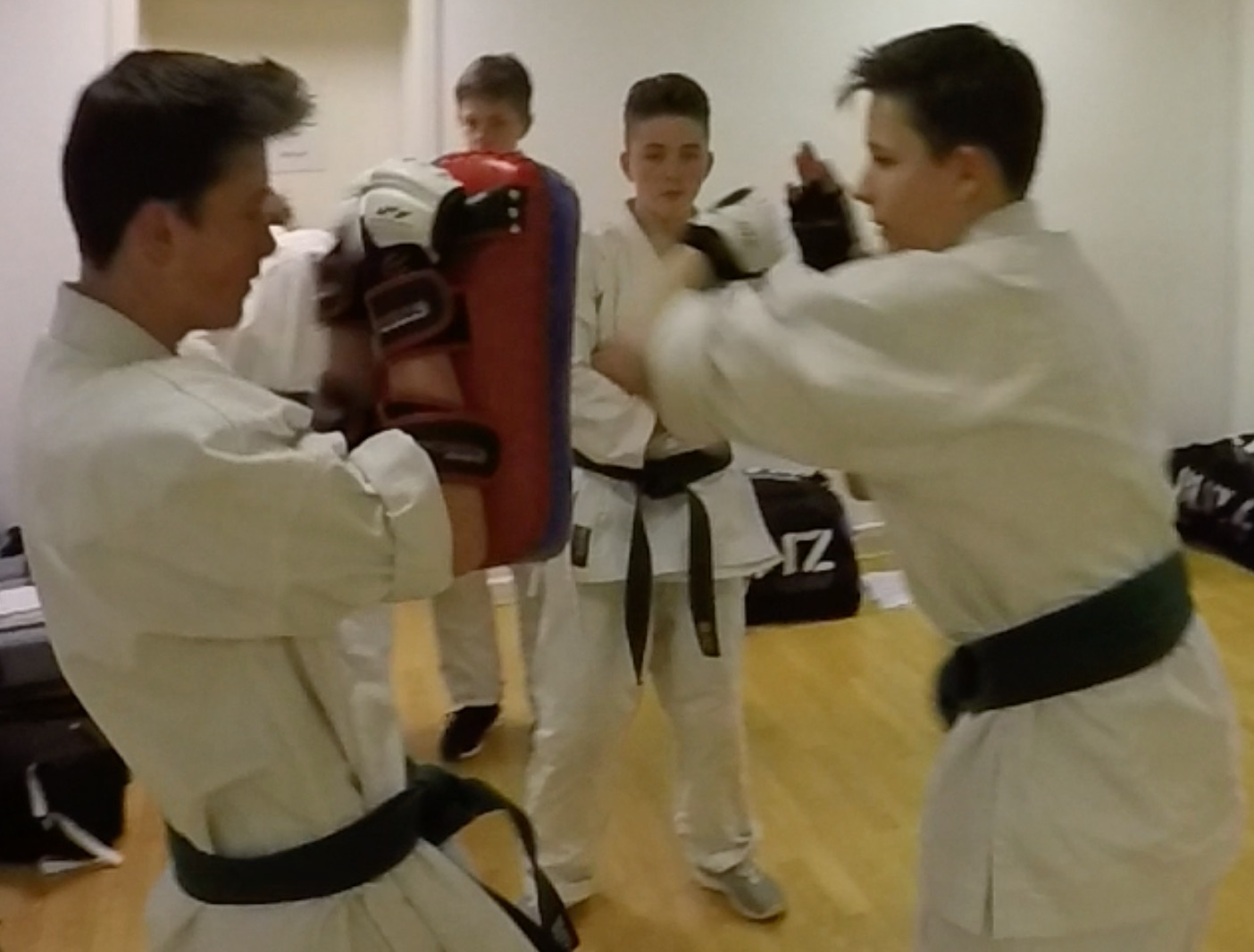 Practical Karate padwork in High Wycombe